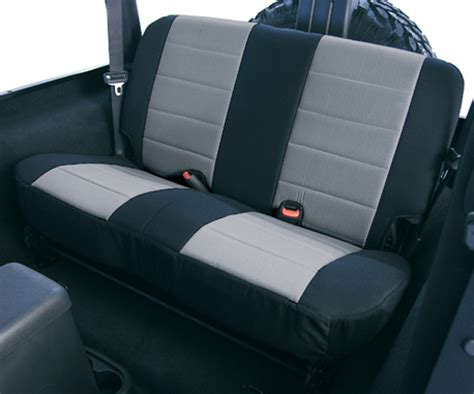 2006 Jeep Wrangler Seat Covers Jeep Wrangler Neoprene Rear Seat Cover 2003 2006