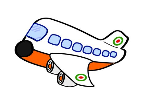 clipart aereo clip aereo civile airplane squiggly svg