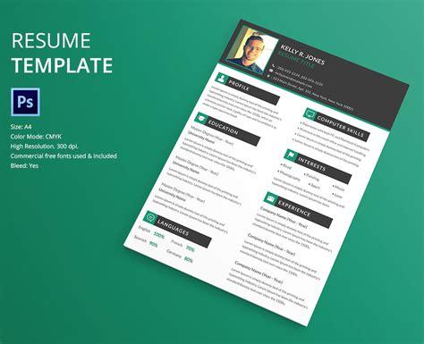 40 Resume Template Designs Freecreatives Design Template