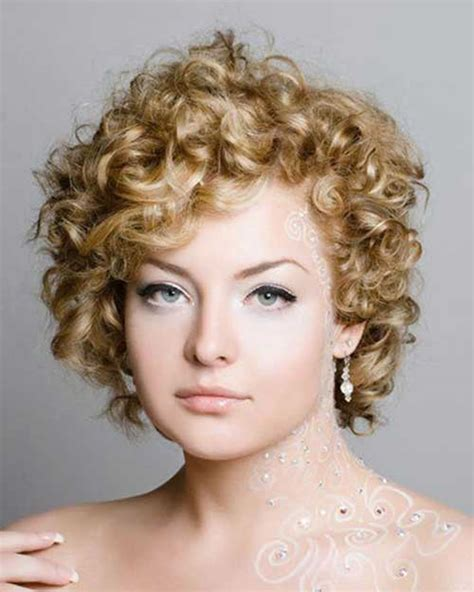 hairstyles curly short hair 2018 permed hairstyles for short hair best 32 curly