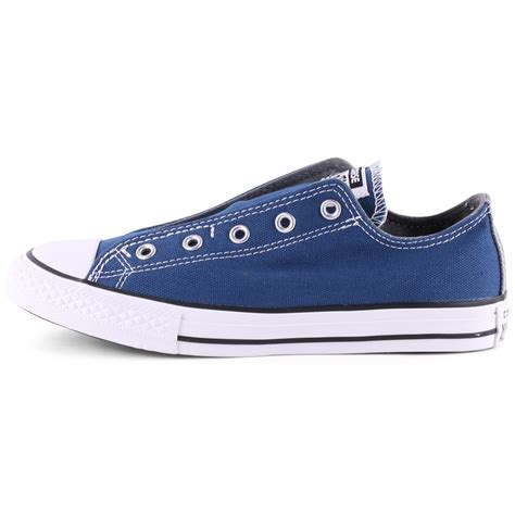Converse Slop Navy converse chuck all slip on trainers in navy