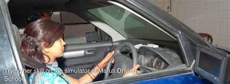 maruti driving simulator institute of driving traffic research idtr rana maruti