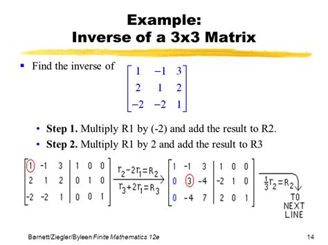 calculator inverse matrix chapter 4 systems of linear equations matrices ppt