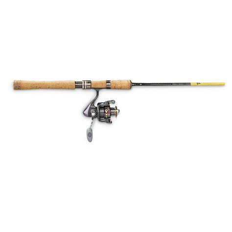 light action fishing rod eagle claw 6 6 quot powerlight medium light action spinning