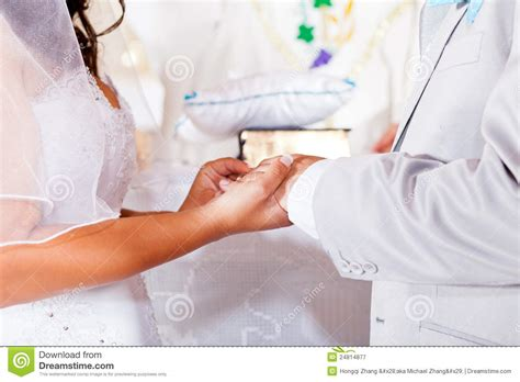 Wedding Ring Exchange Clipart by Ring Exchange Royalty Free Stock Photography Image 24814877