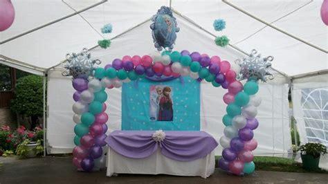 arreglos con globos de frozen tema de frozen arco de globos frozen theme balloon arch