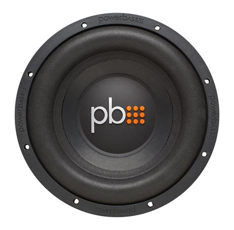 Subwoofer Mobil Aktif Bass Us Audio 10 Bass Menggelegar powerbass s 1004 10 inch single 4 ohm subwoofer with large roll foam surrounds pwb14 s 1004