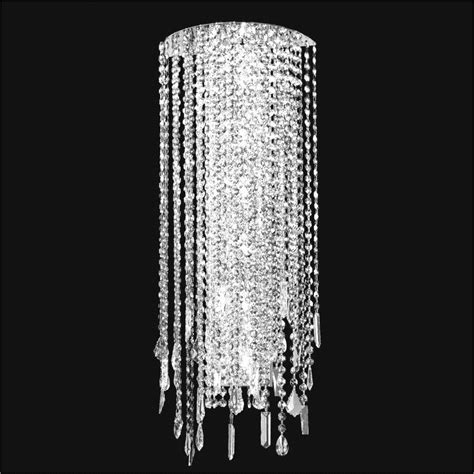 crystal wall mount lighting crystal wall light divine ice 577 glow 174 lighting