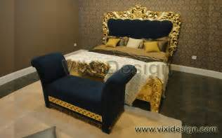 italian furniture gold leaf bedroom masdiego vixi design