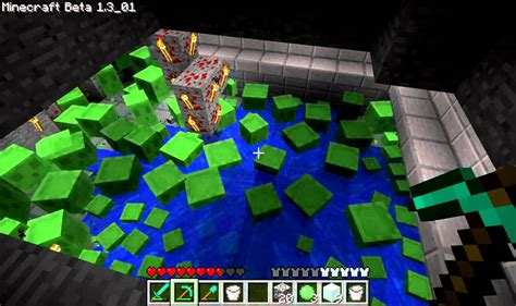 slime trap tutorial minecraft slime attack youtube