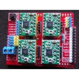 shield cnc arduino imprimante  driver