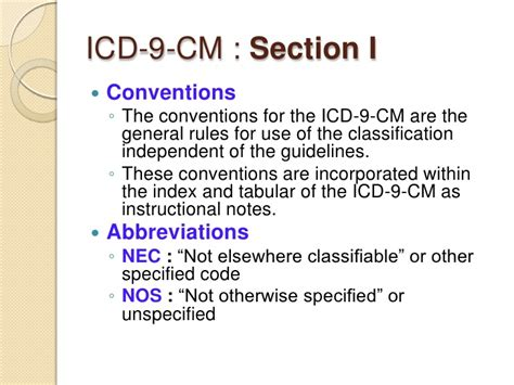 Icd 10 Sections by Coding And Icd9cm Review