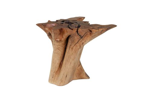 tree stump dining table maple