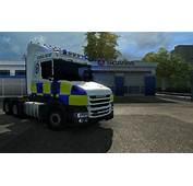 SCANIA T POLICE SKIN 122 Mod  Euro Truck Simulator 2 Mods