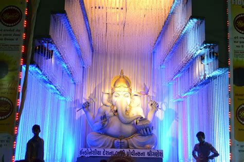Shree Ganesh Decoration by Surat Shreeganesh Shree Ganesh