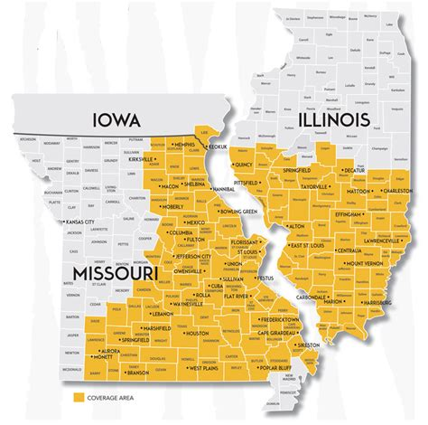 map mo and il tiger logistics cartage freight transportation services