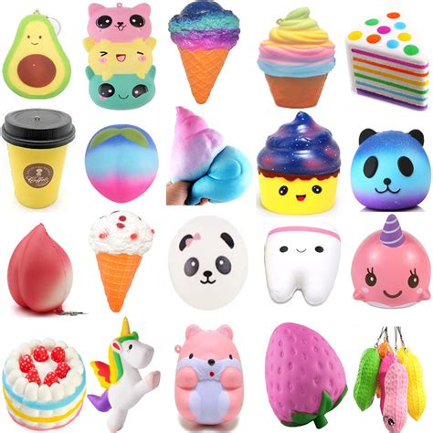 squishy toys soft rising squishies scented charms kawaii squishy