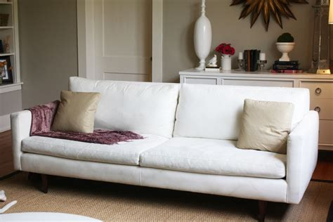 room and board sofa slipcovers dwell and tell jasper sofa in da house