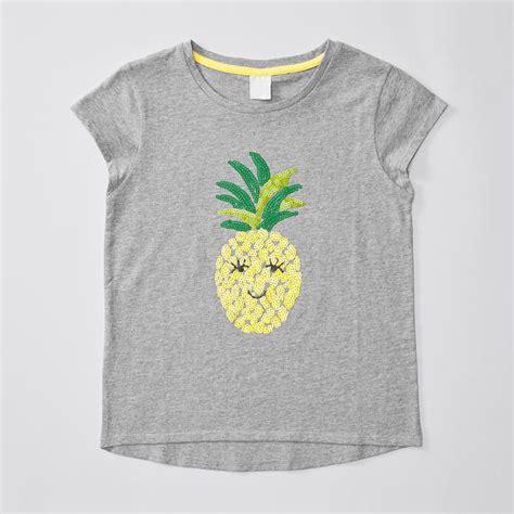 sleeve sequin pineapple t shirt target australia