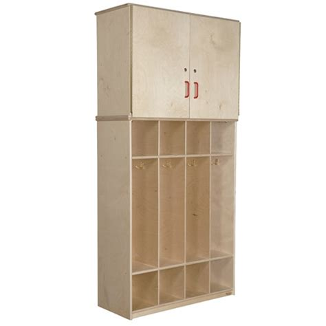 Coat Cabinet by Wood Designs Wd56800 Coat Locker Vertical Storage Cabinet