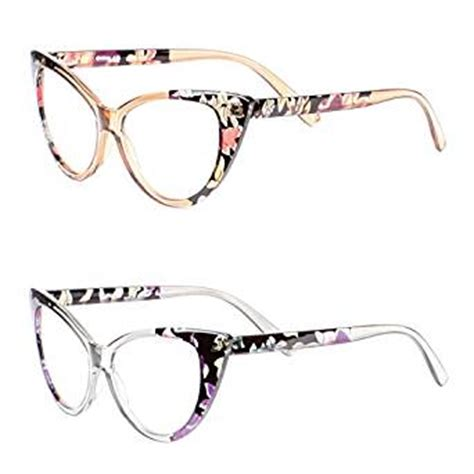 ll womens 2 pack cat eye reading glasses 1 00x