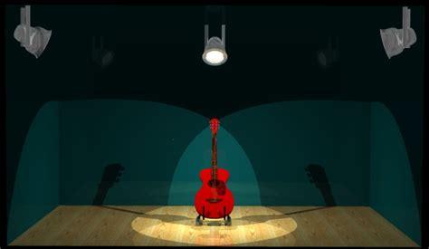 piedistallo per chitarra primo progetto di grafica