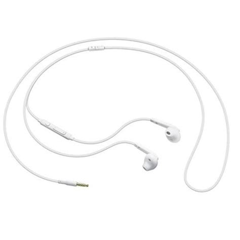 Headset Samsung Galaxy Chat genuine samsung galaxy s6 s6 edge in ear headset headphones mic remote white ebay