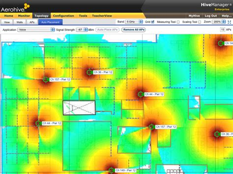 Online Floor Planner Aerohive Hivemanager Online Network Management