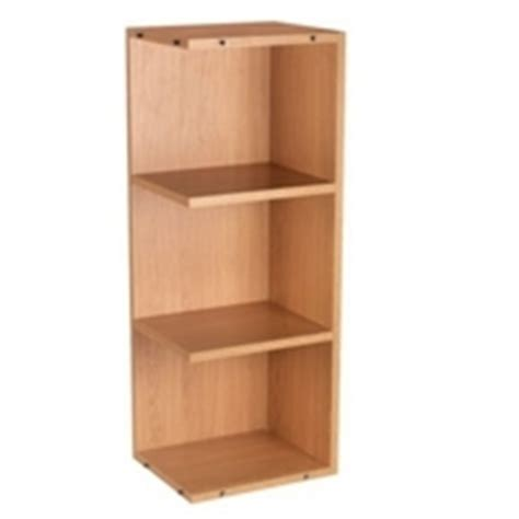 Wickes Drawer Runners by 163 75 Cooke Lewis Open End Wall Unit Oak 300mm Top