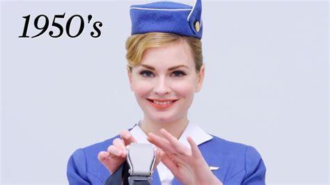 100 years of flight attendant uniforms cond 233 nast traveler cne