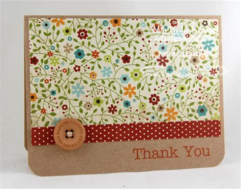 easy thank you cards to make a and easy thank you paper cuts