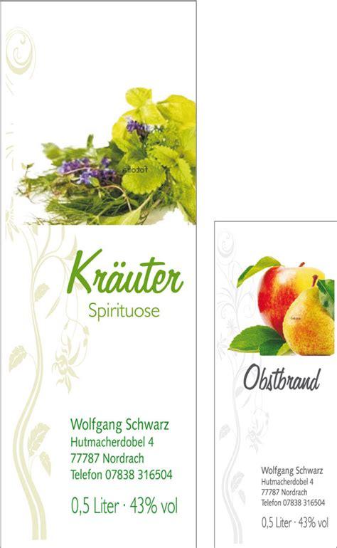 Schnapsflaschen Etiketten Vorlagen by Wemaprint Branntweinetiketten Schnapsetiketten F 252 R
