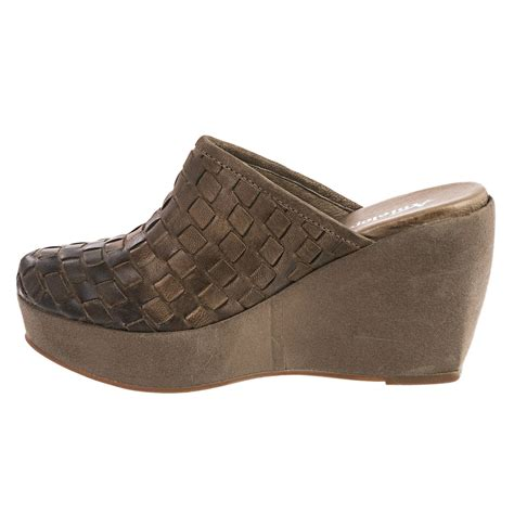 antelope 800 woven leather mule shoes for save 76