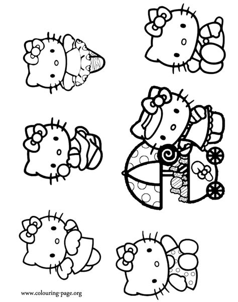 hello kitty angel coloring pages hello kitty as an angel a ballerina and more coloring page