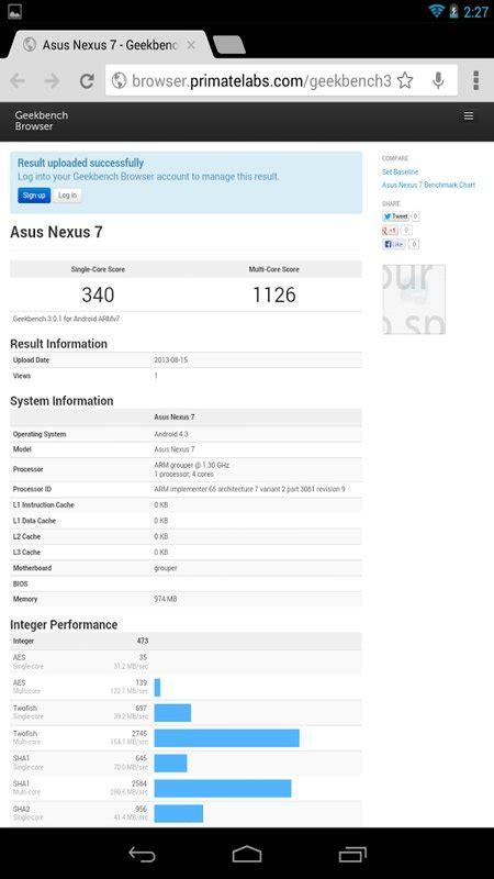 geek bench 3 скачать geekbench 3 на андроид отличный бенчмарк на android