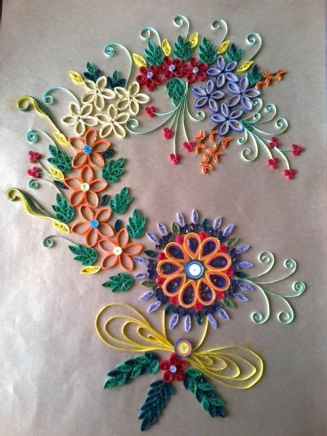 How To Make Handmade Wall Hanging - wall hanging handmade with paper quilling kalighat