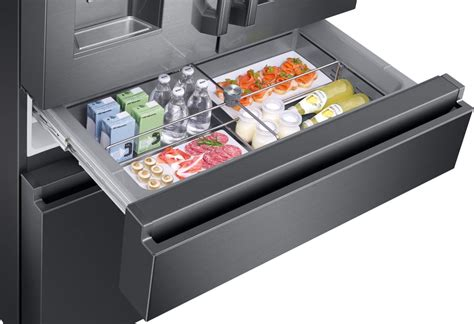 Samsung Flexzone Drawer by Samsung Rf23m8590sg 36 Inch Counter Depth 4 Door