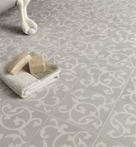 encaustic tile bathroom bloomsbury pattern tile ca pietra