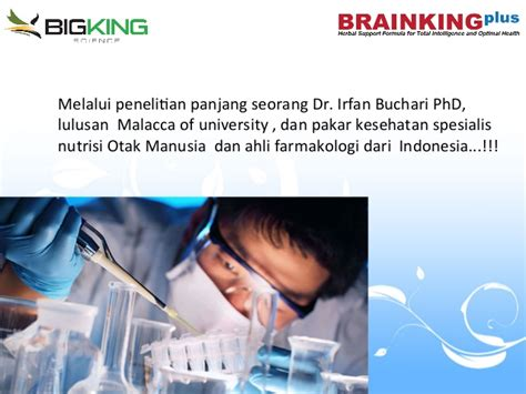 Brainking Plus Sarinah bigking science brainking mlm terbaru 2016