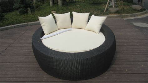 lit rond exterieur chine daybed ext 233 rieur noir de rotin lit rond de salon de