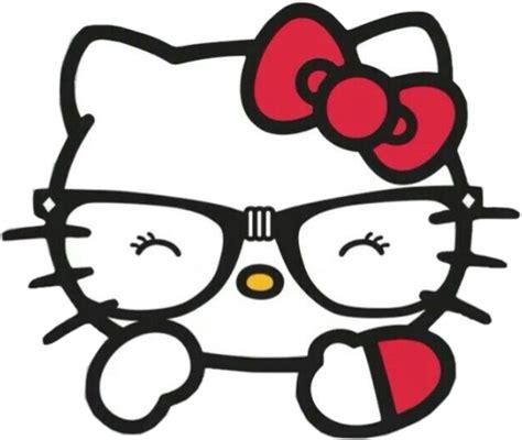 imagenes de hello kitty nerd hellokitty kitty nerd lentes intelectualgirl interestin