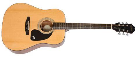 Gitar Listrik Epiphone Less Paul Sunburst epiphone ft 100 acoustic