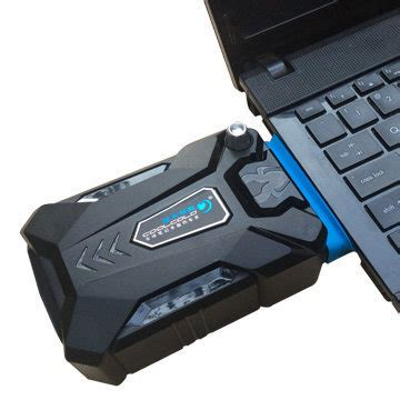 Kipas Laptop taffware universal laptop vacuum cooler black