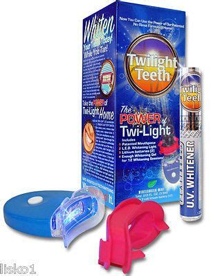 twilight teeth  home   tanning uv light teeth