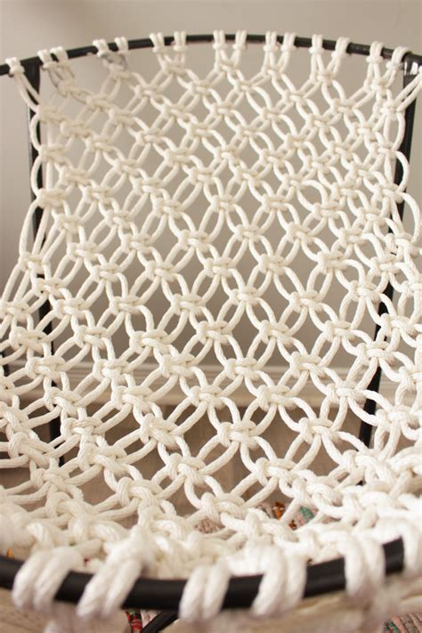 Macrame Net - diy macrame hammock chair fish bull