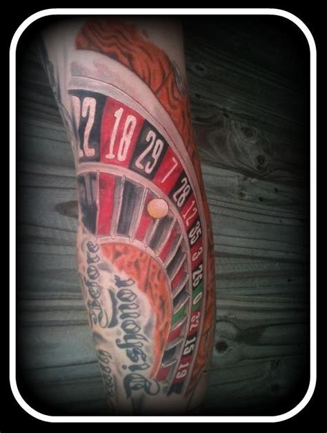 roulette wheel tattoo designs wheel by nickothesicko on deviantart