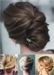 updos for hair one length 54 easy updo hairstyles for medium length hair in 2017