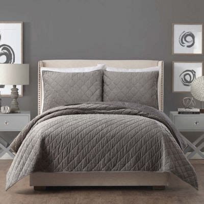 Ayesha Curry? Cotton Velvet Quilt   Bed Bath & Beyond