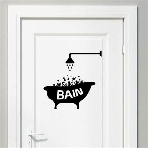 sticker design salle de bain stickers salle de bain et