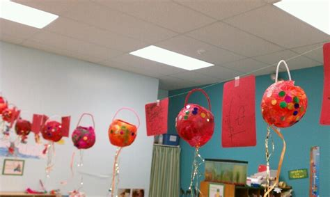 new year lanterns kindergarten new year preschool lanterns tissue paper mache